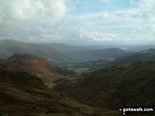 Easedale and Helm Crag from Calf Crag