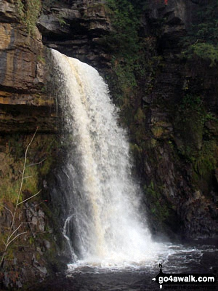 Thornton Force, The Ingleton Waterfalls