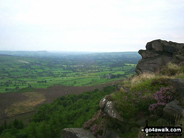 North West from The Roaches