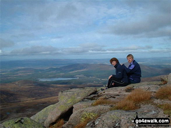 Me and my wife on Cairn Gorm (Cairngorms)