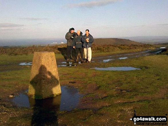 Black Hill trig point on the Quantocks.