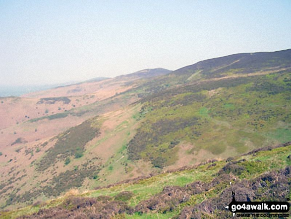 Moel Famau from The Offa's Dyke Path above Bwlch Penbarras