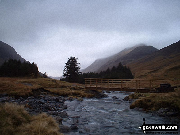 High Stile and High Crag from near Black Sail Hut (Youth Hostel)