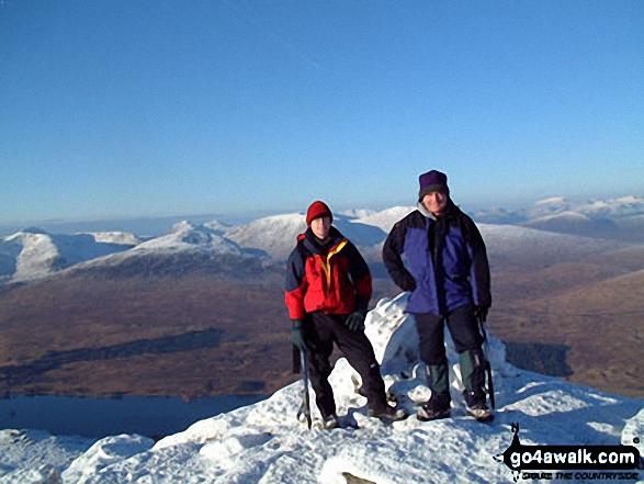Walk Beinn an Dothaidh walking UK Mountains in The River Tay to Rannoch Moor  Argyll and Bute    Scotland