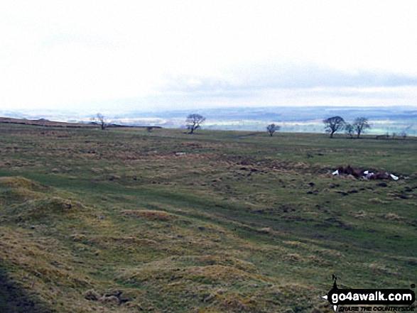 On Whittington Fell - Walking The Hadrian's Wall Path National Trail - Day 3