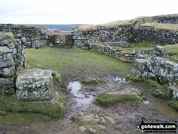 Vercovicium Fort, Housesteads - Walking The Hadrian's Wall Path National Trail - Day 4