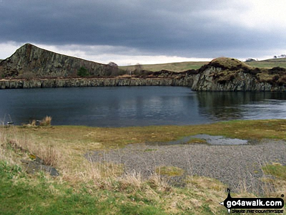 Cawfields-Quarry - Walking The Hadrian's Wall Path National Trail - Day 5