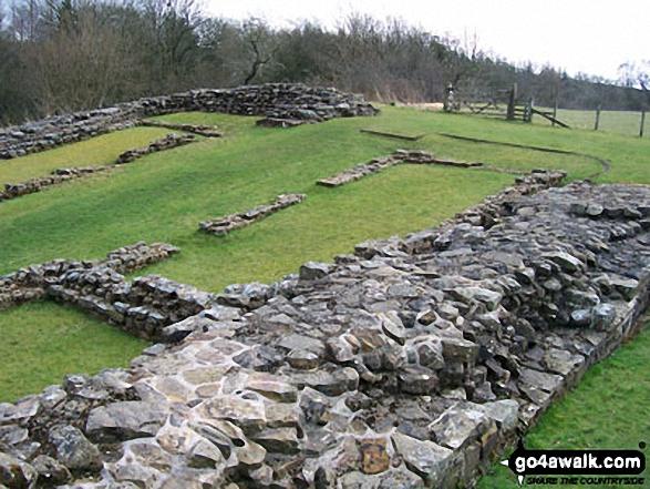 Birdoswald - Walking The Hadrian's Wall Path National Trail - Day 5