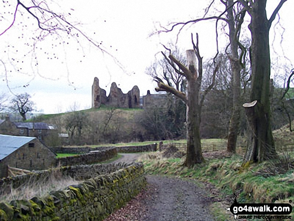 Thirlwall Castle - Walking The Hadrian's Wall Path National Trail - Day 5