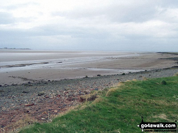 The Solway Estuary - Walking The Hadrian's Wall Path National Trail - Day 7