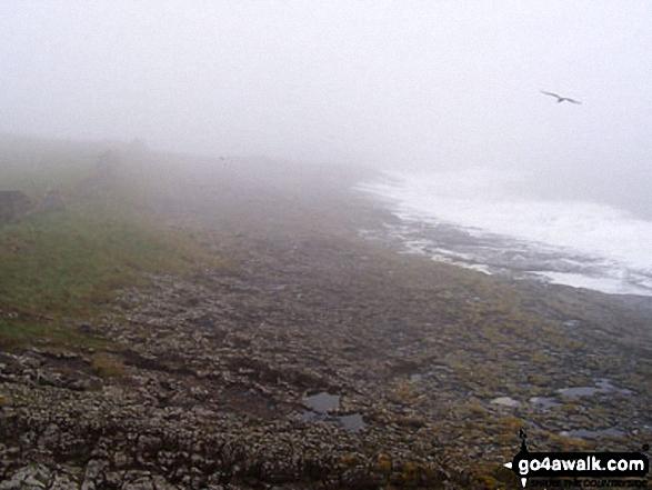 The North Sea north of Craster