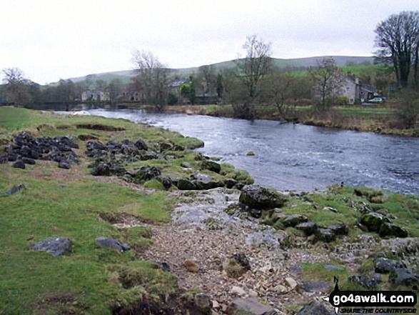 The River Wharfe near Grassington