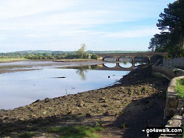 Duchess Bridge of the River Aln, Alnmouth Bay