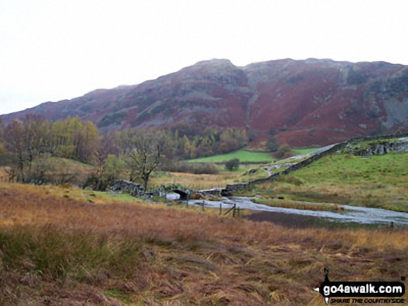 Slater Bridge, Little Langdale. Walk route map c165 Little Langdale from Elterwater photo