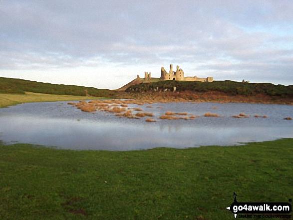 Dunstanburgh Castle from Cushat Stiel