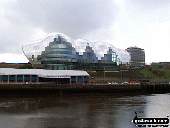 Sage Music Centre, Gateshead - Walking The Hadrian's Wall Path National Trail - Day 1