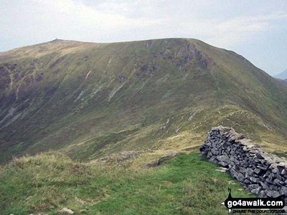 Mynydd Tal-y-mignedd from Bwlch Dros-bern