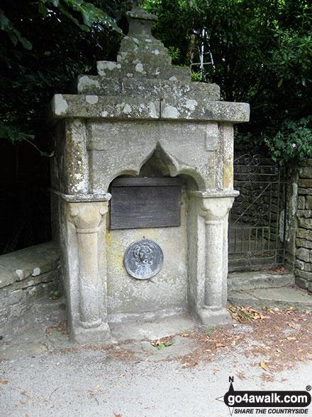 Walk ny190 Appleton-le-Moors from Hutton-le-Hole - St Cedd's Well, Lastingham