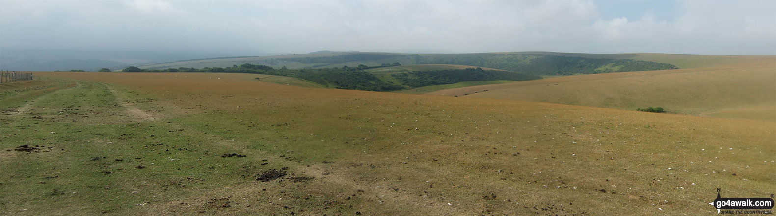 The view from Bostal Hill