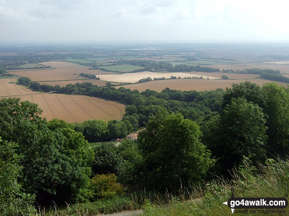 The view from Firle Beacon
