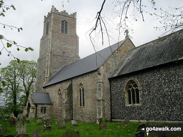 Halvergate church