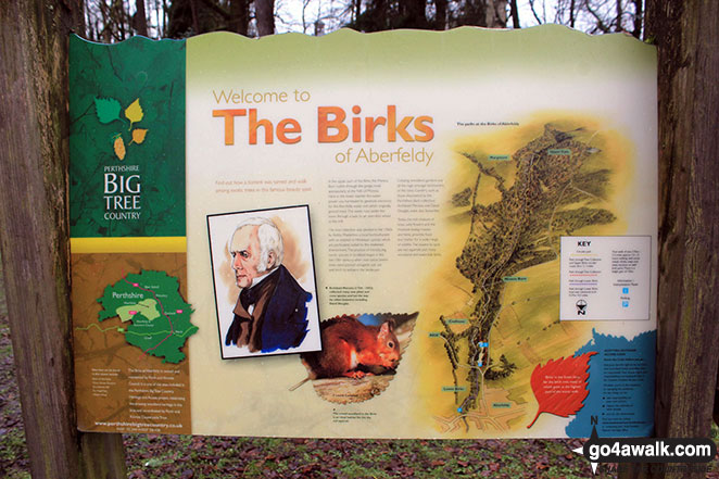 Welcome to the Birks of Aberfeldy