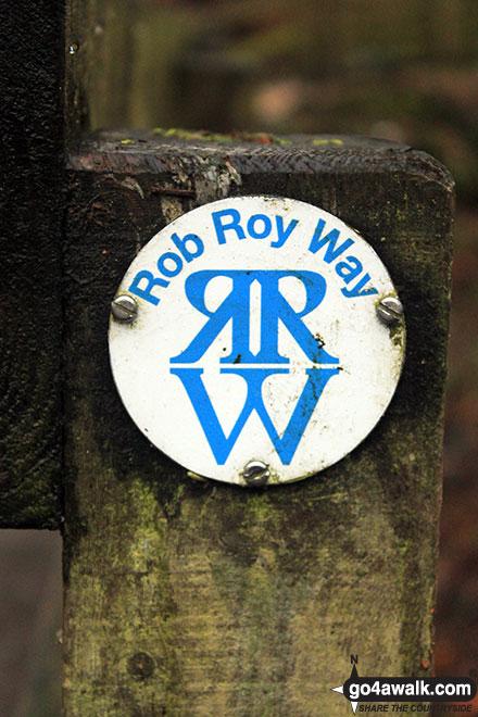 The Rob Roy Way in the Birks of Aberfeldy