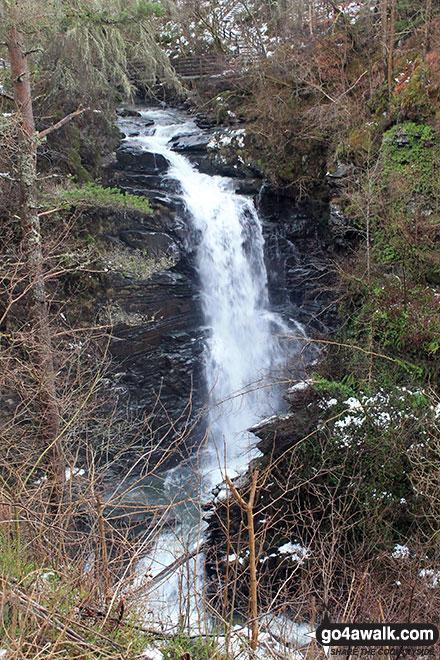 Upper Moness Falls in the Birks of Aberfeldy