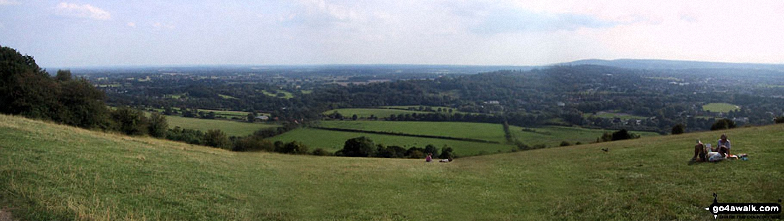 *The North Downs from Box Hill