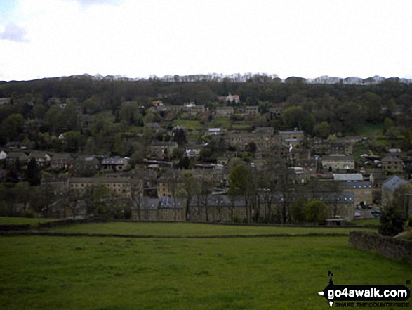 A great view of Holmfirth at the start of our first go4awalk walk last Saturday!