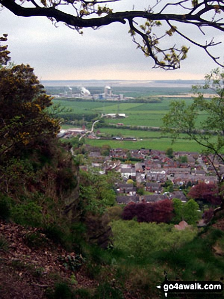 Helsby and The Mersey Estuary from Helsby Hill