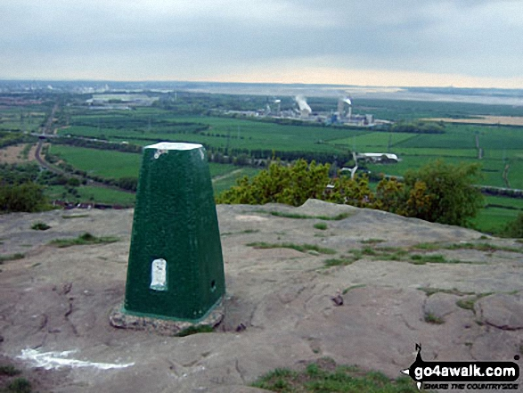 Walk Helsby Hill walking UK Mountains in   Cheshire    England