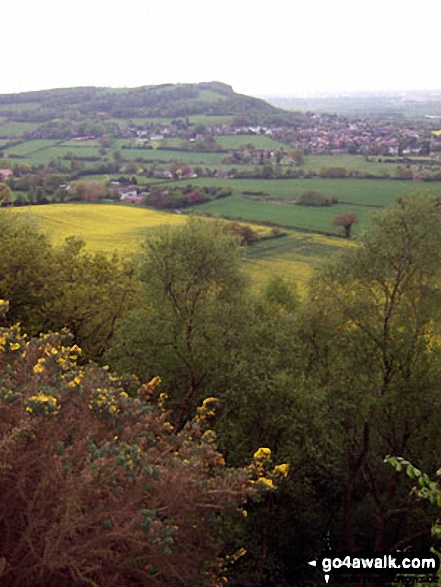 Helsby Hill from Woodhouse Hill