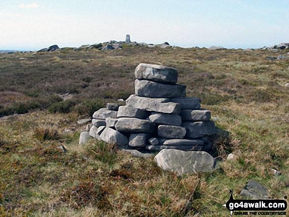 Cairn near Mallowdale Fell (Ward's Stone) western summit