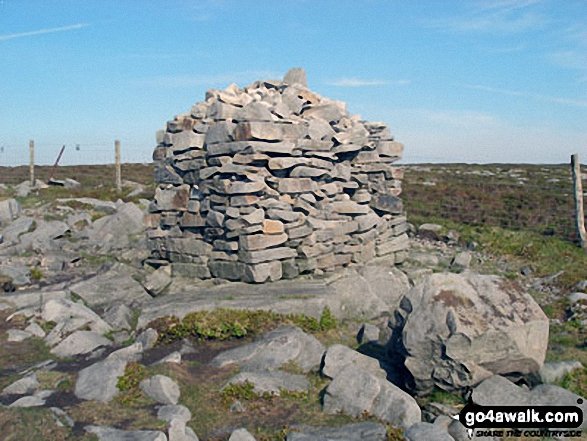 Shooter's Pile (cairn) on Grit Fell