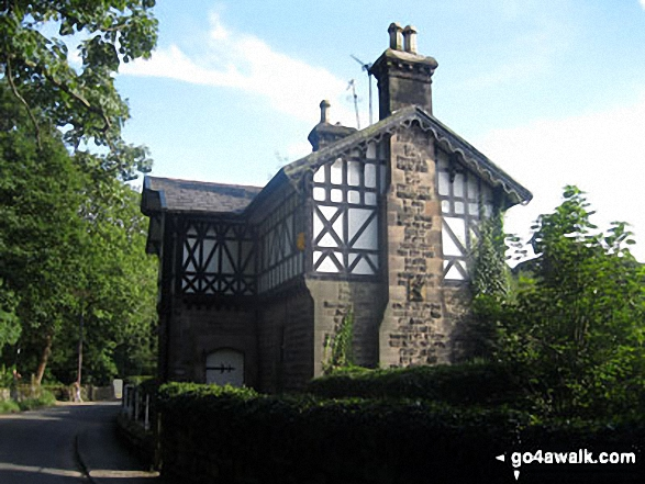 Heapey Waterman's Cottage at the northern end of Anglezarke Reservoir