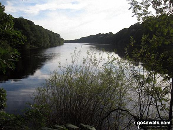 Looking south down Anglezarke Reservoir