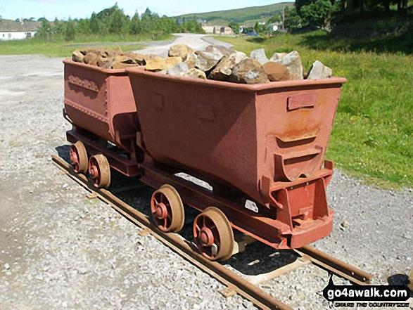 Nenthead Mines Heritage Centre exhibit
