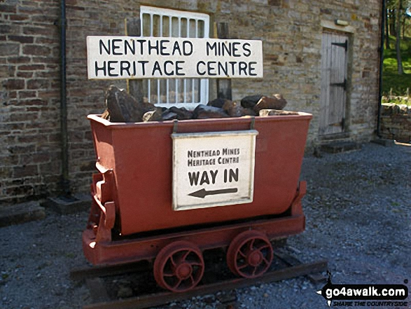 Nenthead Mines Heritage Centre exhibit