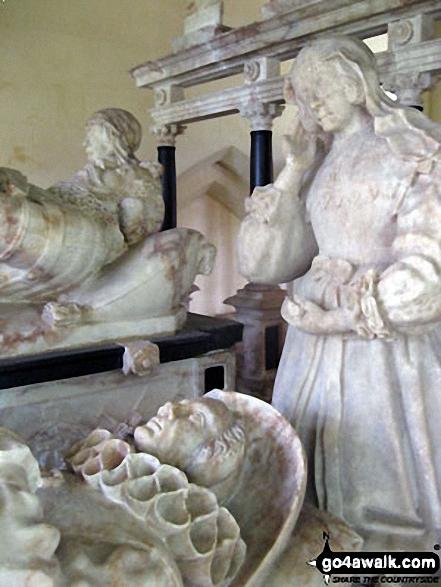The Bassett Monument inside St. Bartholomew's Church, Blore