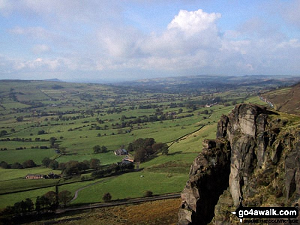 The Cheshire Plain from The Roaches