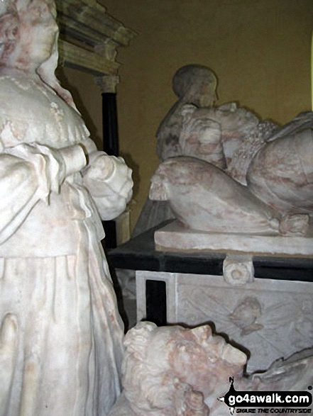 The Bassett Monument inside St. Bartholomew's Church, Blore