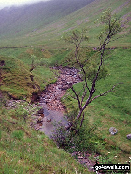 The River Coupall in Lairig Gartain