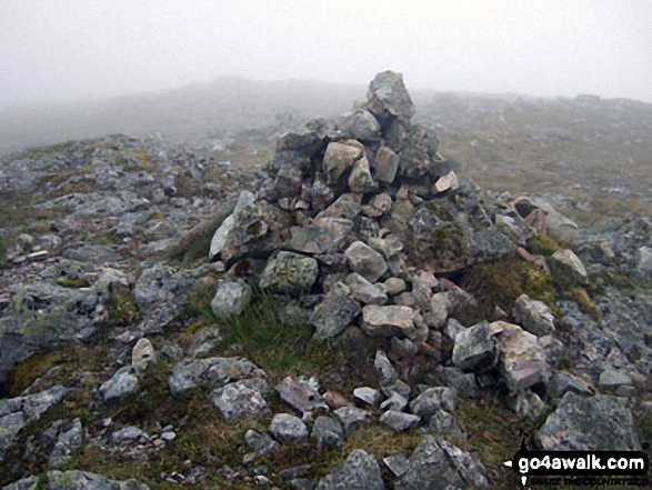 Cairn on the summit of Stob Na Doire (Buachaille Etive Mor)