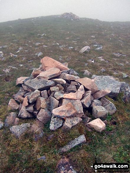 Cairn on Stob Na Doire (Buachaille Etive Mor)
