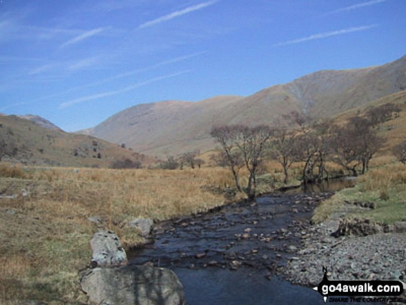 Trout Beck, Thornthwaite Crag, Froswick and Ill Bell from Troutbeck Park