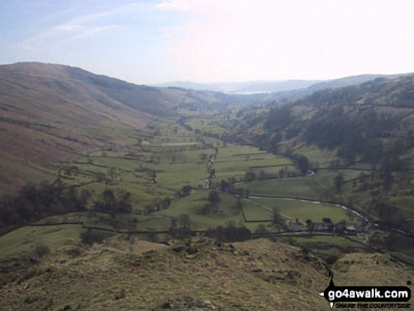 Walk Picture/View: South from Troutbeck Tongue in The Far Eastern Fells, The Lake District, Cumbria, England by Don Gorman (4)