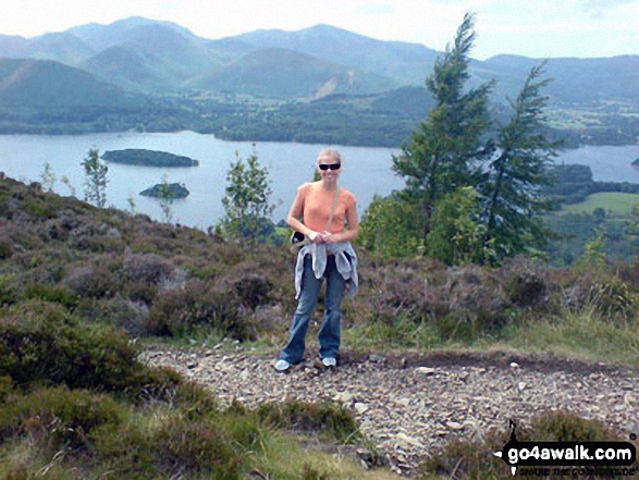 On Walla Crag overlooking Derwent Water