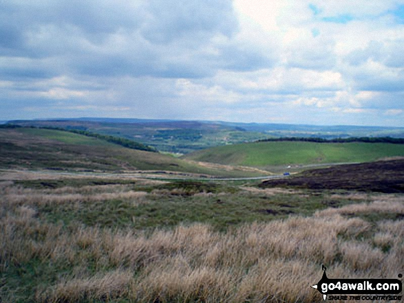 Goyt's Valley from Axe Edge Moor