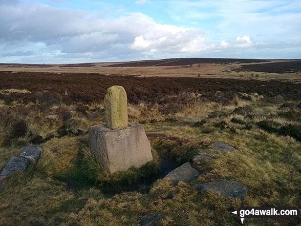 Lady's Cross on White Edge Moor